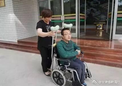 魏祥。图片来源:甘肃省教育厅官方微博。