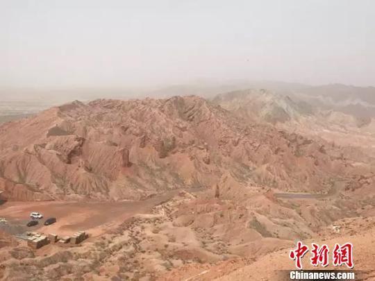 图为玉门国家地质公园将建汽车露营地。 贾海红 摄