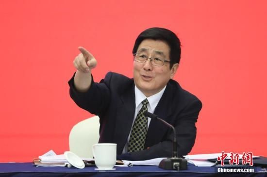 甘肃省委书记林铎 资料图。 中新社记者 盛佳鹏 摄