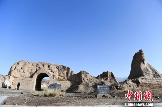 图为甘肃山丹县境内明长城峡口古城。 杨艳敏 摄