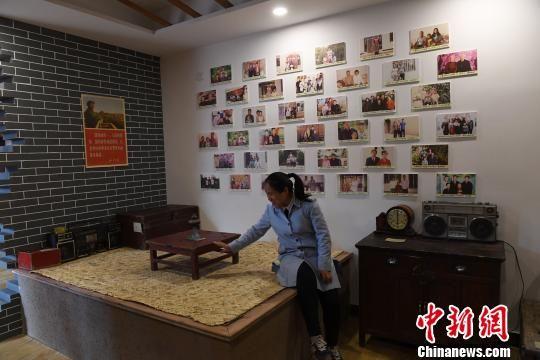 2018年2月底,甘肃临泽县大寨村建成的乡村博物馆。(资料图) 杨艳敏 摄