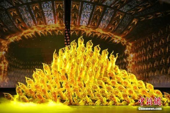 资料图:经典舞剧《丝路花雨》。南如卓玛 摄