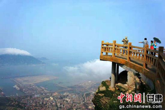 图为江苏连云港景区景色。(资料图)连云港市旅游局供图