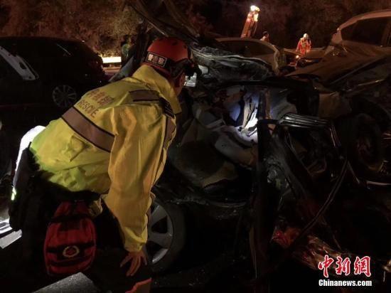 图为事故救援现场。(资料图) 杨青 摄