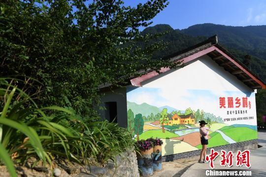 图为甘肃陇南康县阳坝镇。(资料图) 杨艳敏 摄