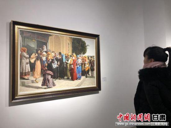 民革甘肃省委员会庆祝改革开放40周年书画展在兰开展