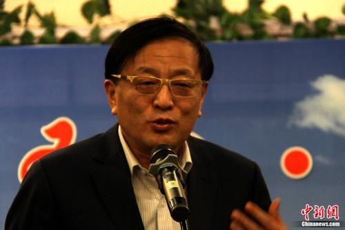 中化聚缘企业管理有限公司执行董事杨宝建。 张旭 摄