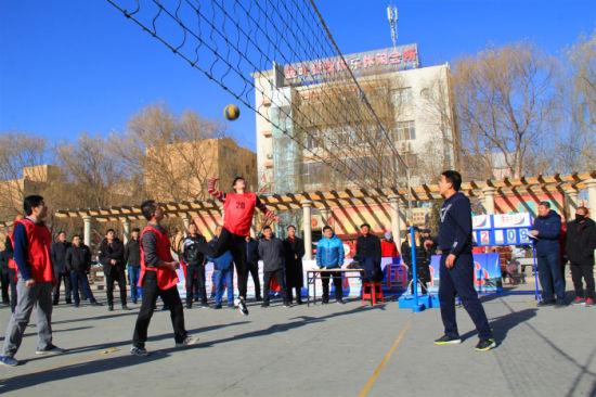 临泽县举办第七届全民健身运动会
