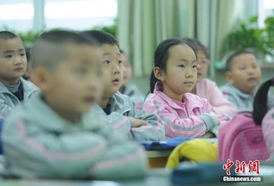 资料图:小学 中新社记者 刘新 摄