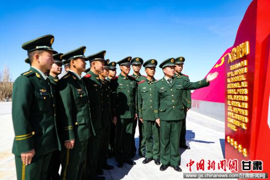 4月10日,�M�官兵�W�誓�~。 曹志�� �z