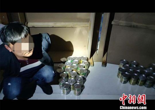 图为警方抓获犯罪嫌疑人。(资料图) 冯忠海 摄