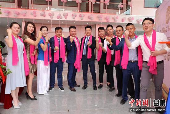 甘�C省�S�青年委�T���I�浣M成立。