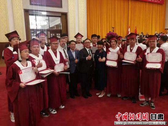 兰州万华中加学校毕业生全部被国外各大学录取