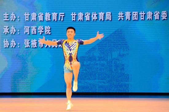 甘肃农业大学健儿在全省第四届大运会中夺得三
