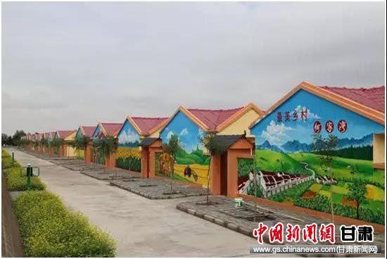 何家湾村民集中居住点。