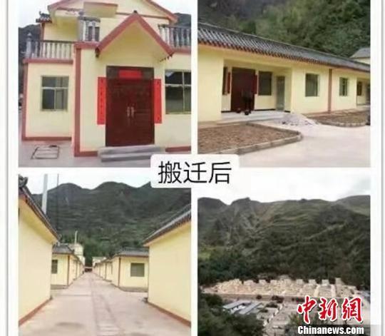 图为宕昌县深山民众的搬迁后的宜居新居。 钟欣 摄