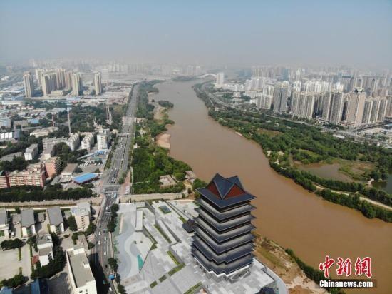 资料图:黄河兰州段。中新社记者 杨艳敏 摄