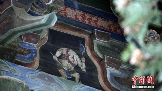 甘�C(su)天(tian)水伏(fu)羲�R�F《山海�(jing)》神�F�D。魏(wei)建� �z(she)