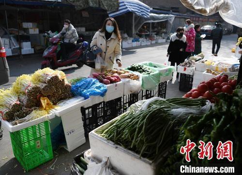 1月(yue)29日拍�z的�Y(zi)料�D�U�m(lan)州市城(cheng)�^的何家�f、五泉等(deng)多家ye)��C zheng)常�I�I,���c上有(you)多�N新�r蔬菜。 ��(yang)�G(yan)敏(min) �z
