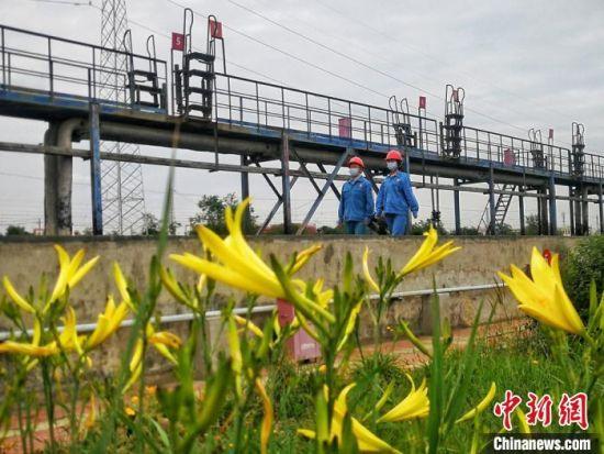 近年来,兰州石化公司把开展废气、废水、固废治理攻关作为实现清洁生产,打造美丽工厂的一项突出紧要任务。(资料图) 刘延治 摄