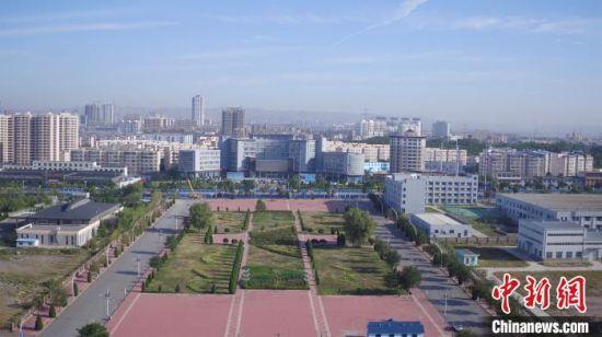图为兰州白银国家自主创新示范区(白银)部分区域。(资料图)甘肃省科技厅供图