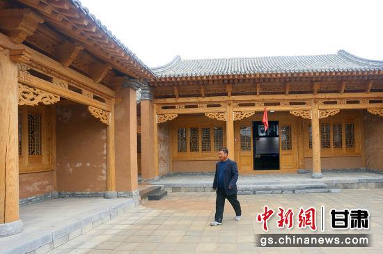 2019年,赵家水西路红军纪念园在周文进家原址上重新修建。