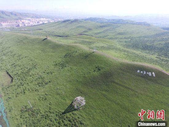 拍摄于2017年6月的甘南当周草原。(资料图) 杨艳敏 摄