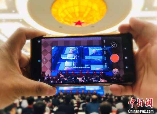 10月28日,全国东西部扶贫协作携手奔小康培训会议在甘肃临夏州举行。图为会议实况。 艾庆龙 摄