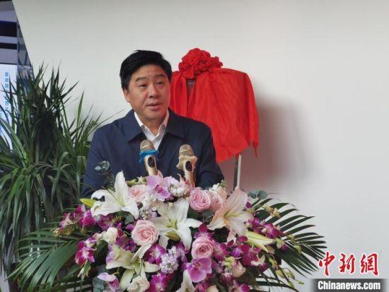 图为西北师范大学党委书记张俊宗发言。 崔琳 摄