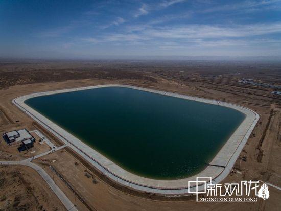 图为1号调蓄水池总容积220万立方米。(资料图)