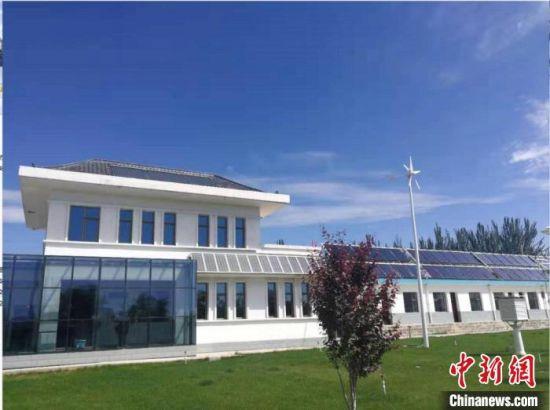 图为甘肃科技投资集团下属企业的被动式太阳能建筑。(资料图)甘肃科技集团供图