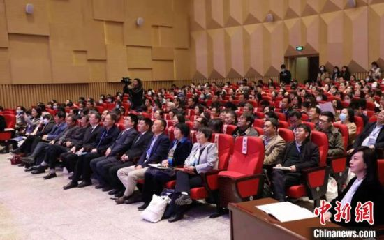 图为来自全国各地的80多位专家代表与西北师范大学老师参加研讨会。 南嘉欣 摄