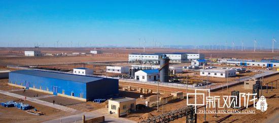 图为瓜州县柳沟煤化工产业园。(资料图)