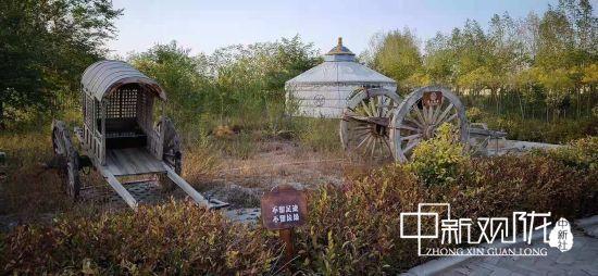 武威古浪金水源丝路驿站绽放乡土魅力