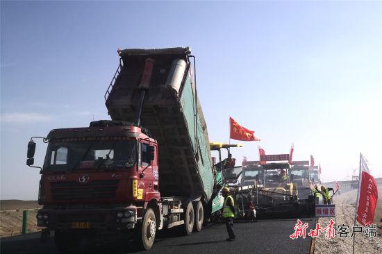 马桥段项目施工现场