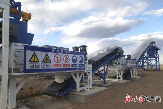 七瓜马桥项目施工现场