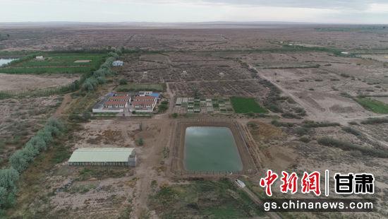 3、中国科学院西北生态环境资源研究院干旱区盐渍化研究站外景。