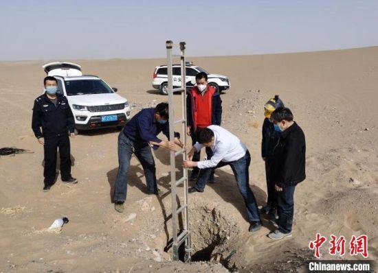 甘肃省公安机关与文保部门协同联动,打击文物犯罪活动。(资料图) 甘肃省公安厅供图