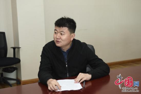 敦煌市清洁能源开发有限责任公司赵明接受采访