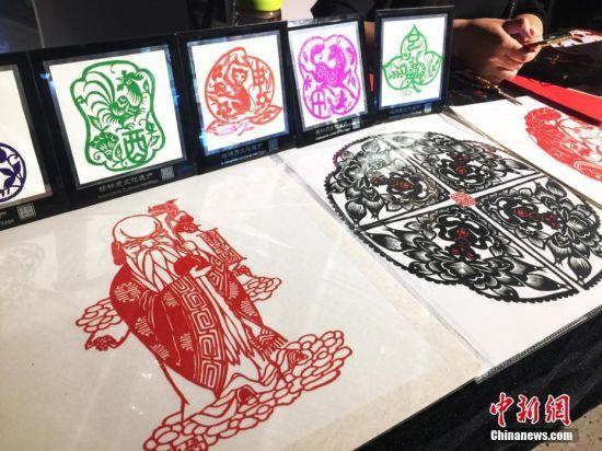 寿星剪纸图片