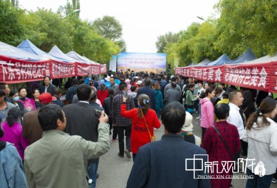 """玉门办农民丰收节:农家特色美食""""争香斗艳"""""""