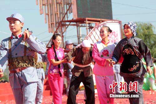 甘肃南梁红色旅游节 华夏文明传承创新区 绚丽甘肃图集