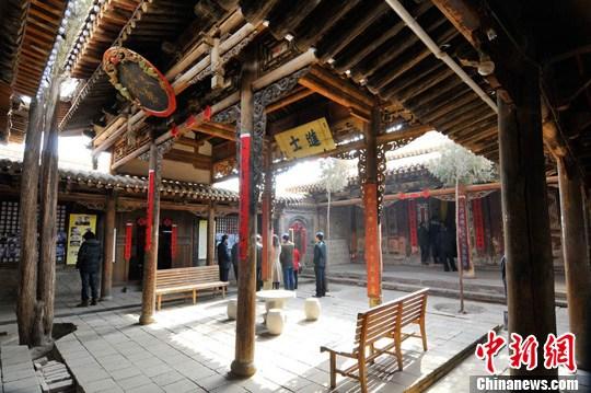 历史文化名镇青城镇 华夏文明传承创新区 绚丽甘肃图集
