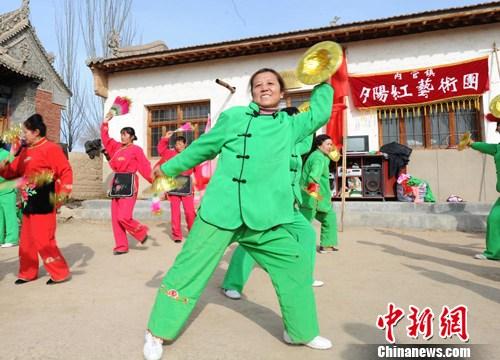 甘肃定西乡村艺术团 华夏文明传承创新区 绚丽甘肃图集