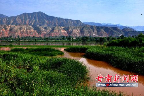 """、大通河在兰州西固区达川乡境内交汇,因此这里被称为""""三江口"""""""
