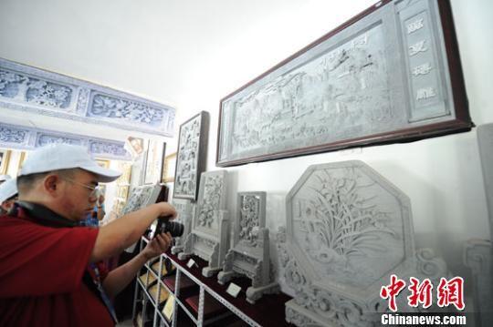 甘肃临夏千年砖雕 华夏文明传承创新区 绚丽甘肃图集