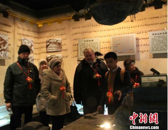乌克兰人探访甘肃庆阳周祖陵农耕文化 华夏文明传承创新区 绚丽甘肃图集