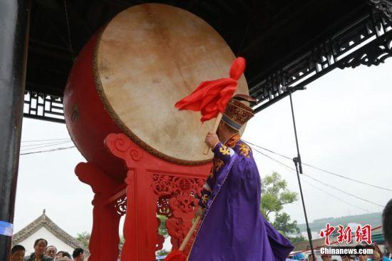 海峡两岸共祭中华人文始祖伏羲