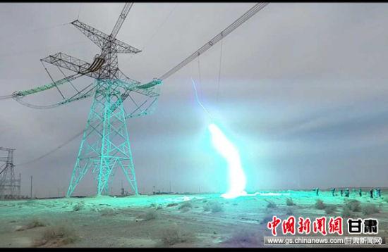 酒湖±800千伏特高压直流输电双极低端系统调试结束