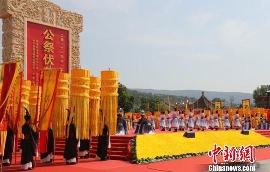 海峡两岸确定第五度共祭中华人文始祖伏羲